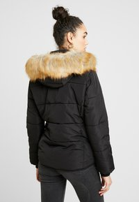 Topshop - JACK HOOD PUFFER - Winter jacket - black - 2
