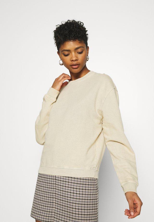 ACID WASH  - Sweater - sand