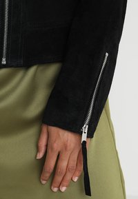 Vila - VICRIS - Leather jacket - black - 5