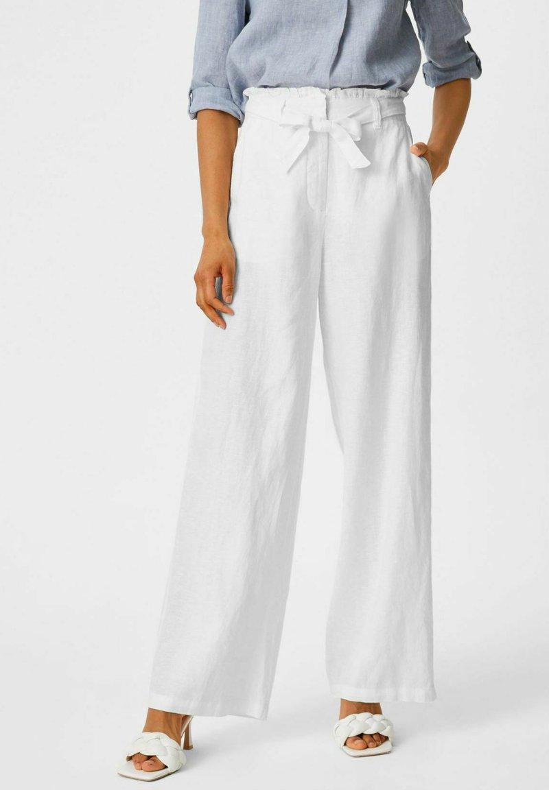 C&A - Spodnie materiałowe - white