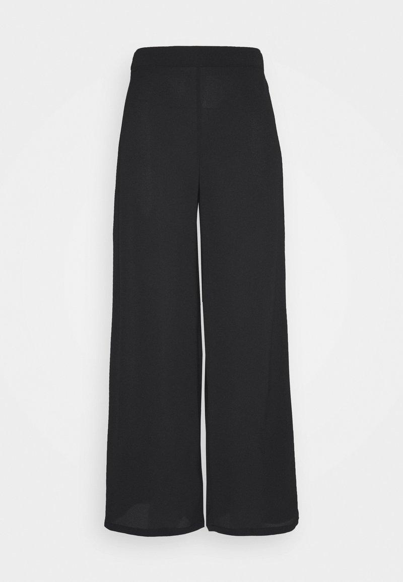 Vero Moda - SAGA WIDE PANT - Bukse - black
