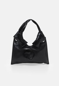 Little Liffner - KNOT EVENING BAG - Handbag - black - 0