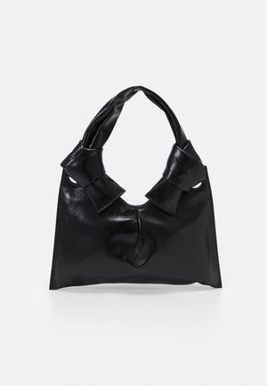 KNOT EVENING BAG - Handbag - black