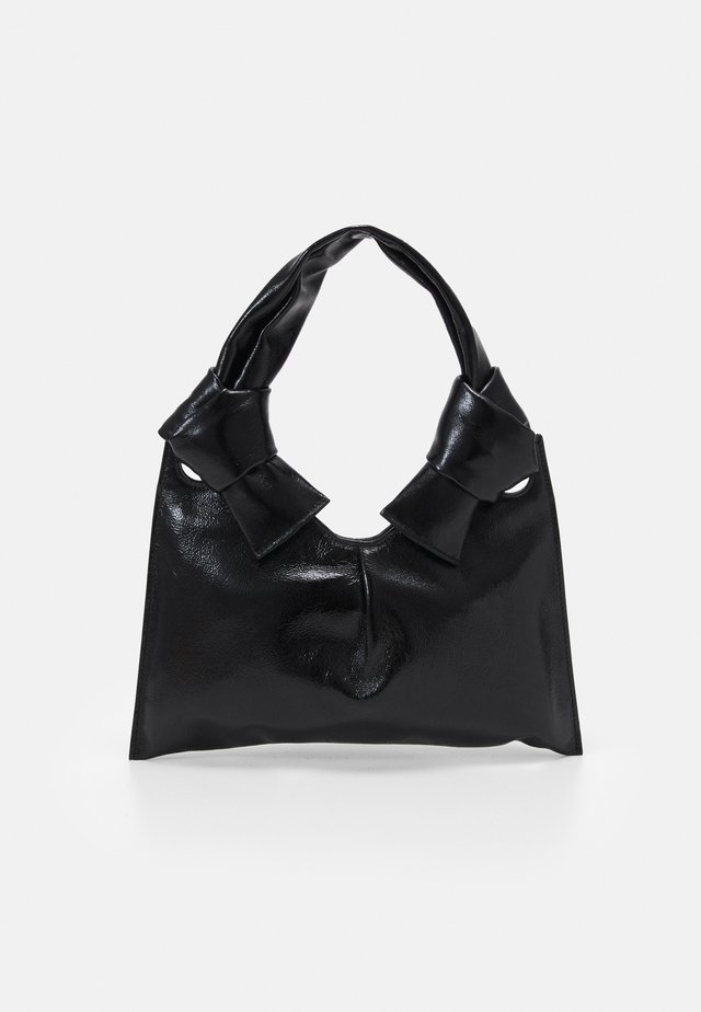 KNOT EVENING BAG - Käsilaukku - black