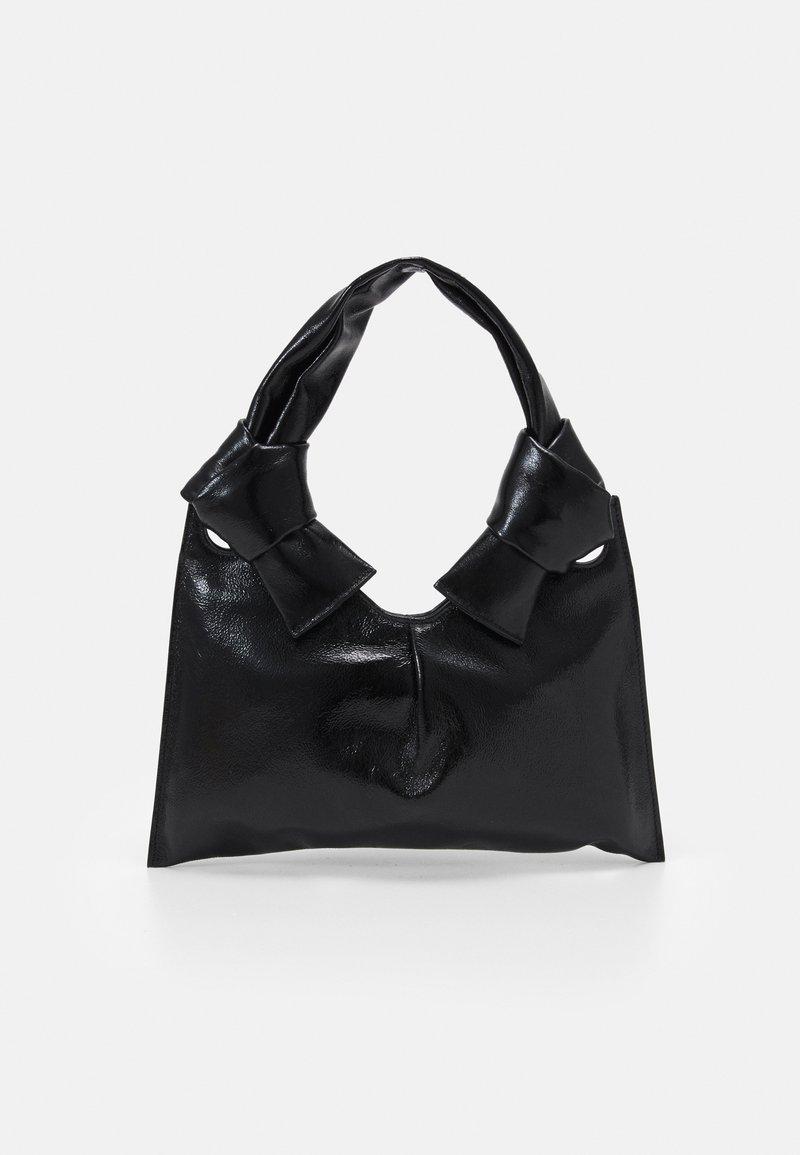 Little Liffner - KNOT EVENING BAG - Handbag - black