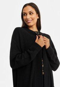 WE Fashion - ZONDER SLUITING - Cardigan - black - 3