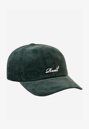 SINGLE SCRIPT - Cap - dark green ribcord