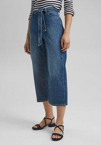 Esprit - Straight leg jeans - blue dark washed - 4