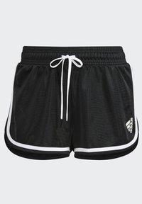 adidas Performance - CLUB SHORT - Urheilushortsit - black - 6