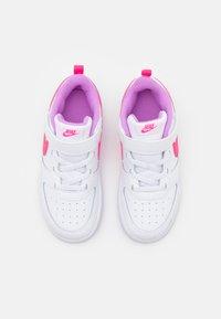 Nike Sportswear - COURT BOROUGH 2  - Zapatillas - white/hyper pink/fuchsia glow - 3