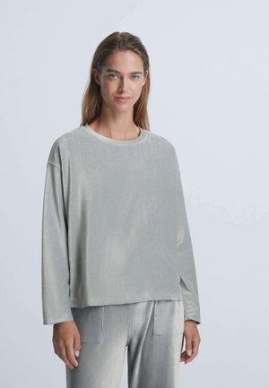 VELOURS - Sweatshirt - light blue
