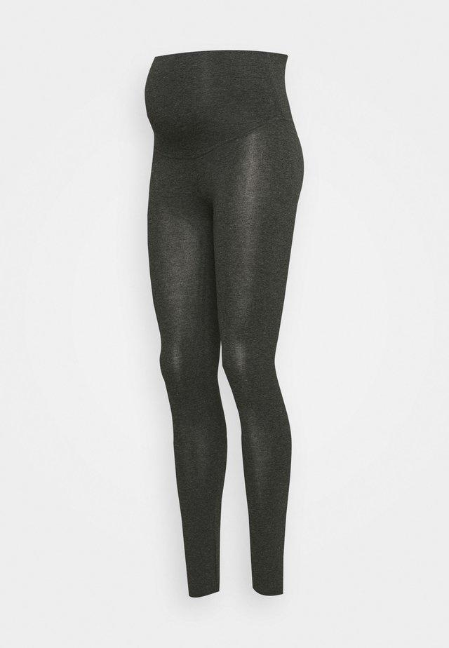 SAVA  - Leggings - Trousers - anthracite melange