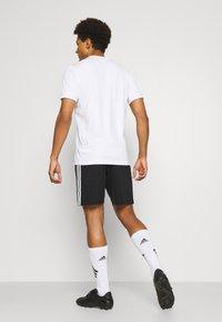 adidas Performance - SQUADRA 21 - Träningsshorts - black/white - 2