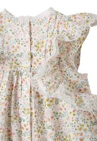 Vertbaudet - Day dress - wollweiß bedruckt - 3