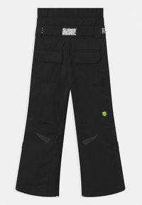 SuperRebel - SUSTSAINABLE UNISEX - Snow pants - black - 1
