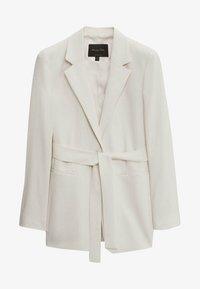 Massimo Dutti - MIT GÜRTEL  - Short coat - white - 1