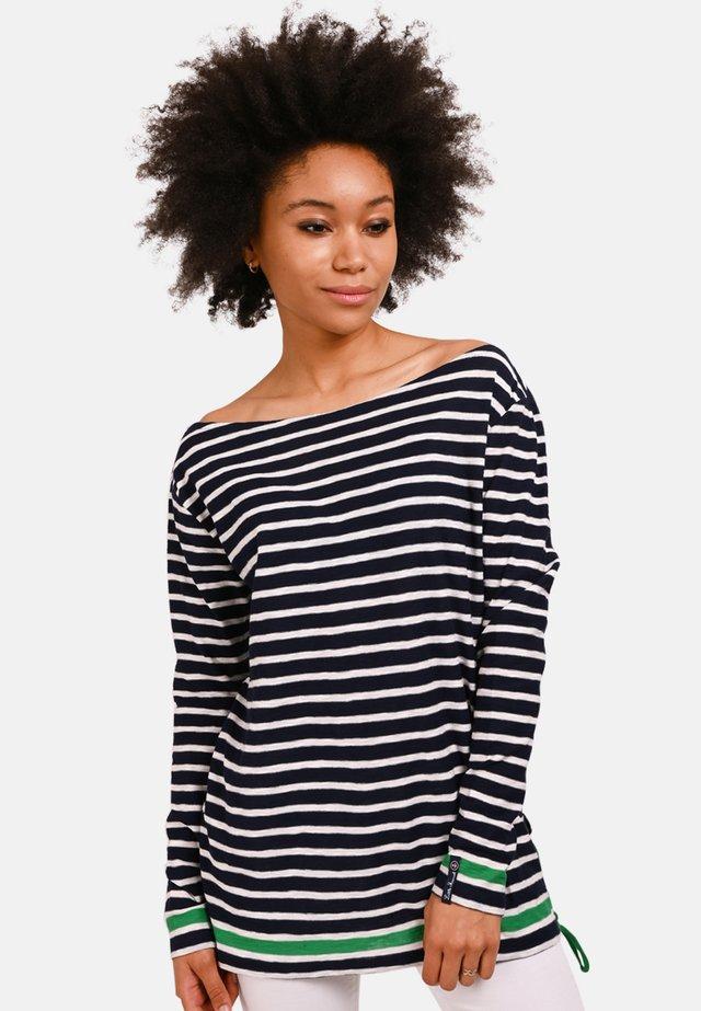 TIBALT  - Long sleeved top - navy blue