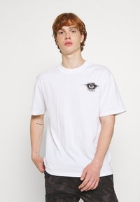 Edwin - SUTURE UNISEX - Print T-shirt - white - 2