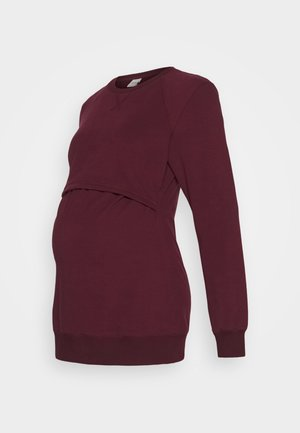 WARMER - Sweatshirt - burgundy