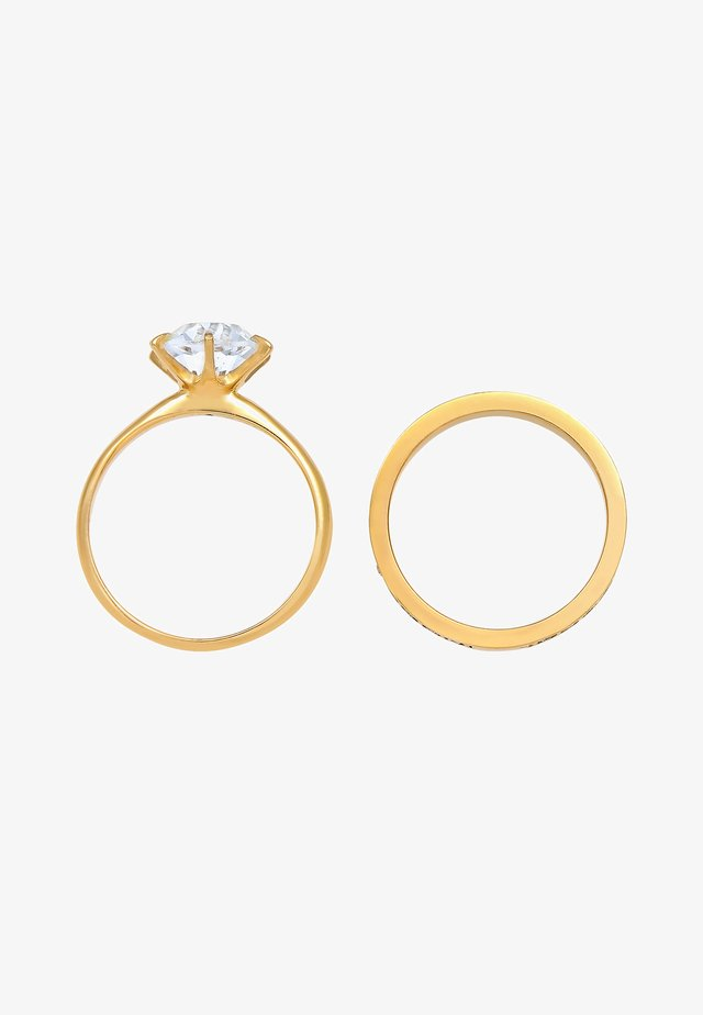 SET  - Ring - gold