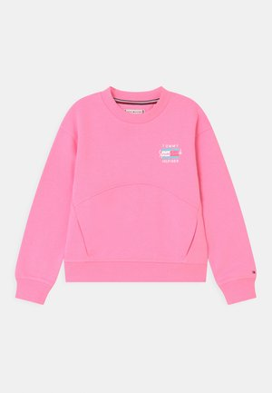 PALM POSTER PRINT - Sweater - cotton candy