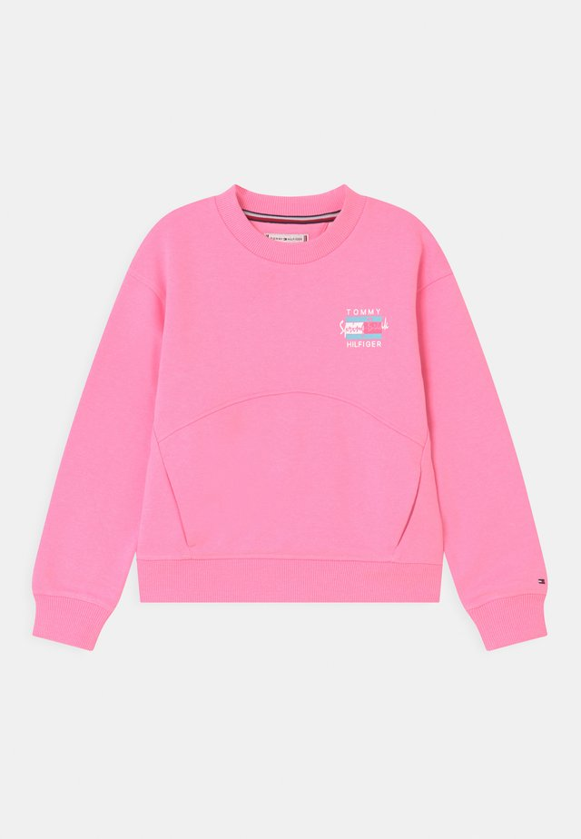 PALM POSTER PRINT - Sweatshirt - cotton candy