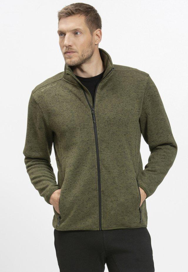 PAREMAN - Fleece jacket - olive