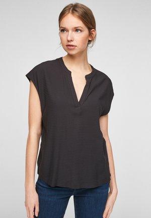 KURZARM - Print T-shirt - black