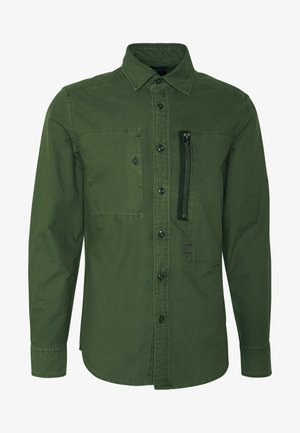 POWEL SLIM SHIRT L\S - Shirt - bronze green