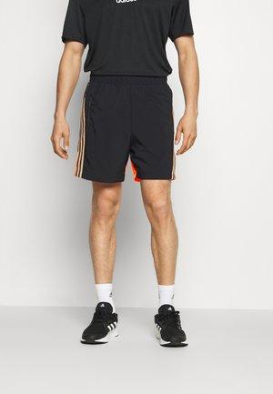 SHORT - Sports shorts - black/scrora