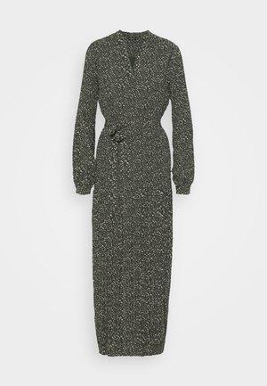 SLFMETHA POPPY LONG DRESS - Maxi dress - winter moss