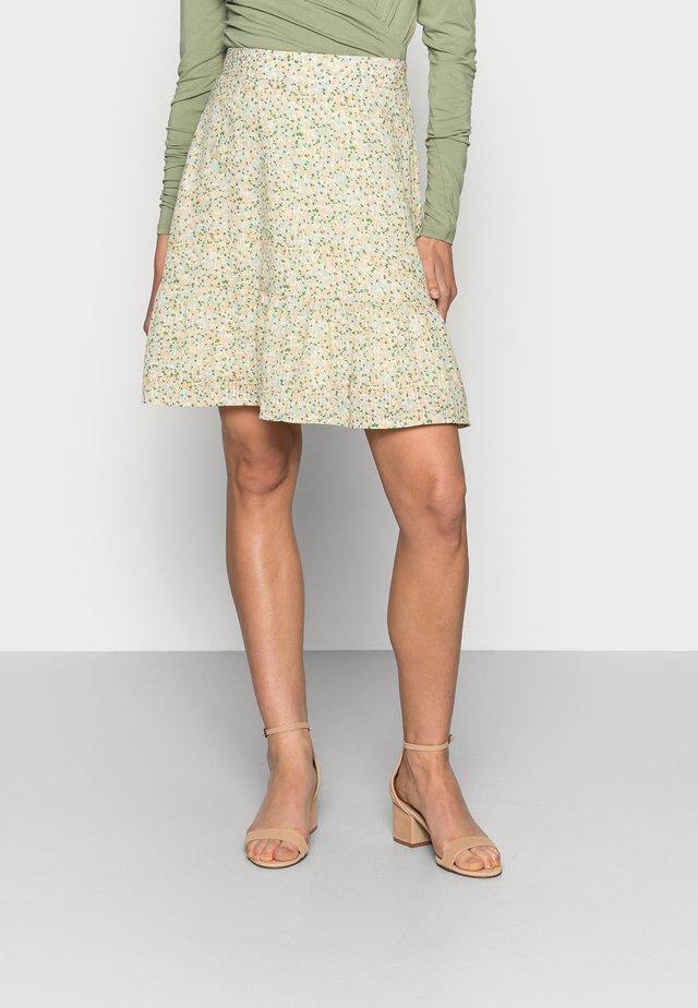 EVETTE SHORT SKIRT - A-snit nederdel/ A-formede nederdele - ecru