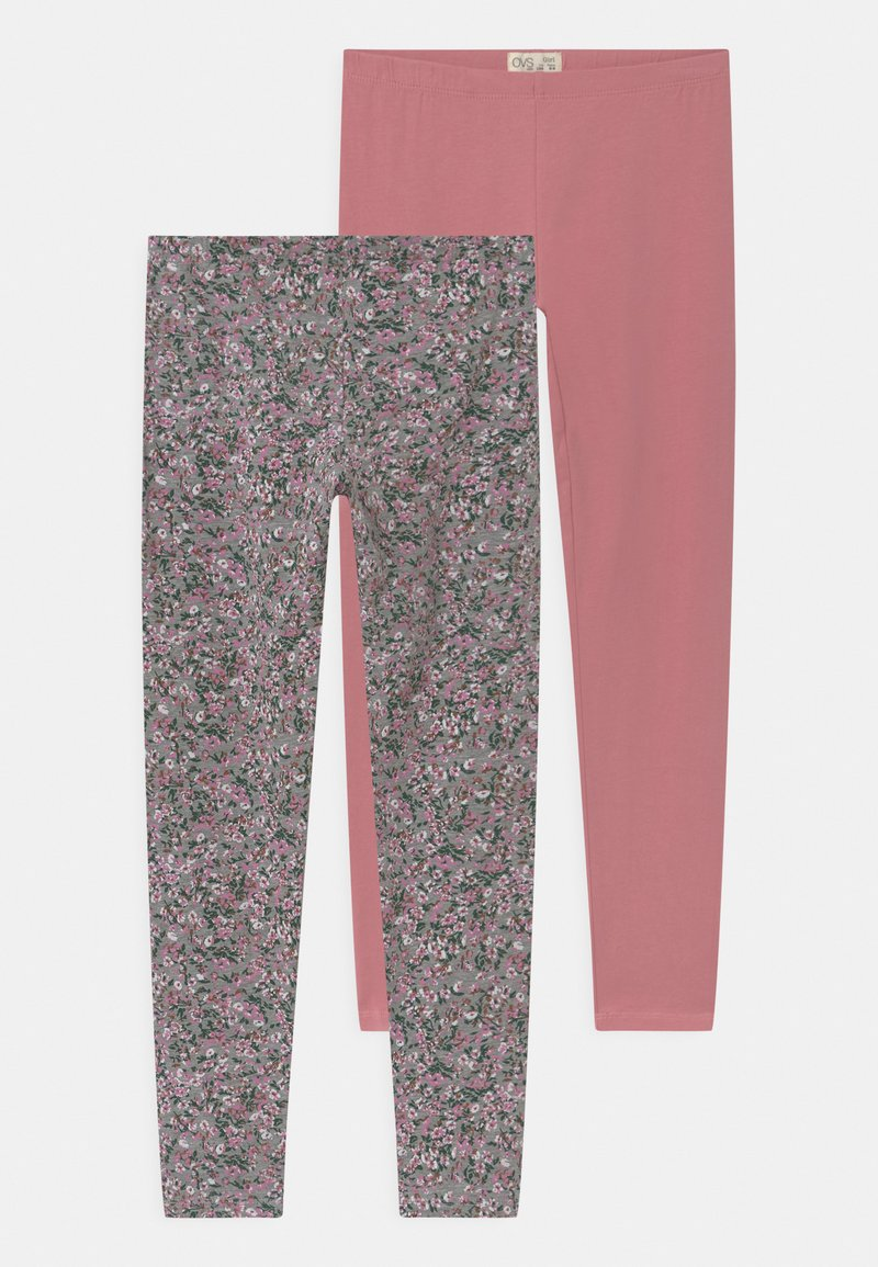 OVS - 2 PACK - Legging - dusty rose