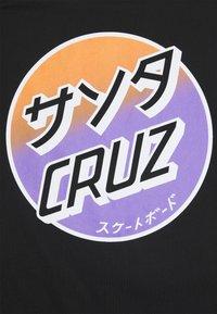 Santa Cruz - UNISEX - Print T-shirt - black - 2
