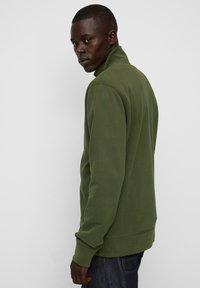 Marc O'Polo - LONG SLEEVE - Zip-up sweatshirt - burnt leaf - 2