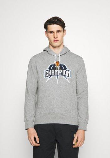 HOODED  - Sweatshirt - grey
