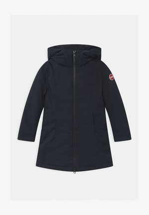 HOODIE GIRL - Down coat - blue black