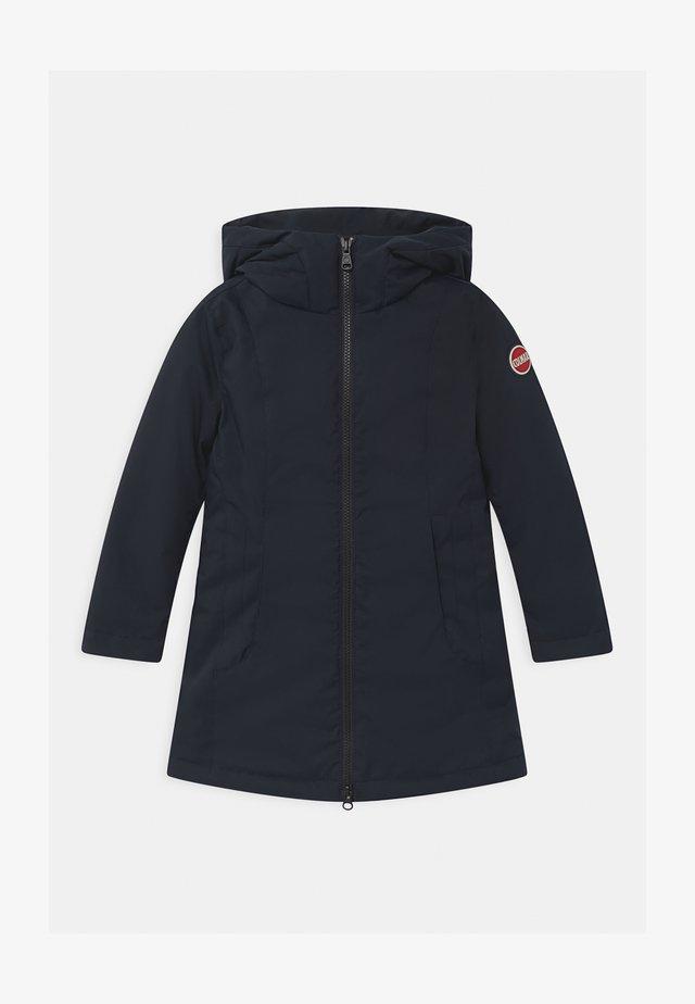 HOODIE GIRL - Down coat - blue black