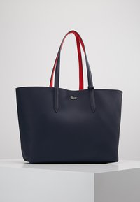 Lacoste - REVERSIBLE - Shopping bags - peacoat salsa - 5