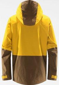 Haglöfs - LUMI JACKET - Ski jacket - pumpkin yellow/teak brown - 6