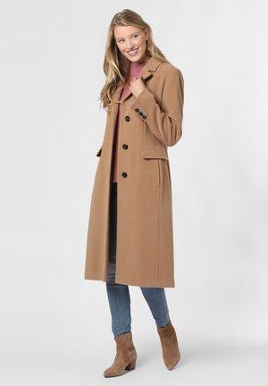 MANTEL - Classic coat - camel