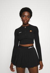 Ellesse - CASALINA - Long sleeved top - black - 0