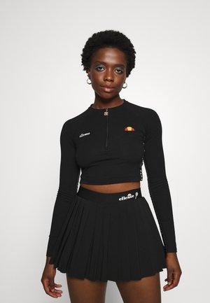CASALINA - Long sleeved top - black