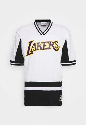 NBA LOS ANGELES LAKERS FINAL SECONDS - Klubové oblečení - black/white