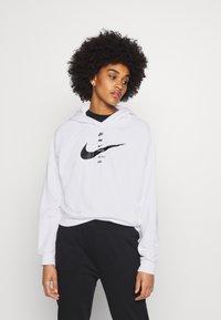 Nike Sportswear - HOODIE - Mikina skapucí - white/black - 0