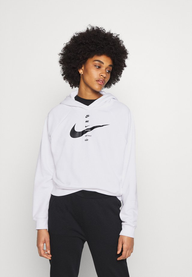 HOODIE - Sweat à capuche - white/black