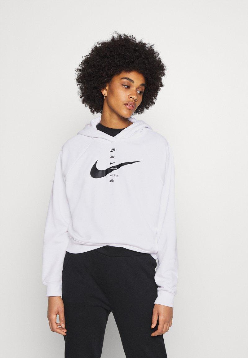 Nike Sportswear - HOODIE - Mikina skapucí - white/black