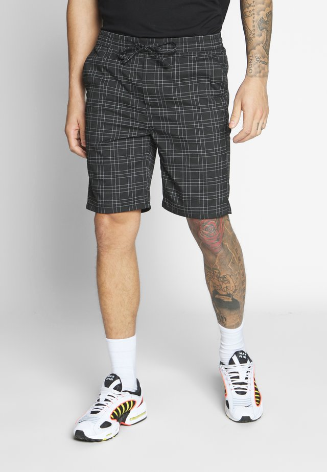 ELGO CHECK - Shorts - black