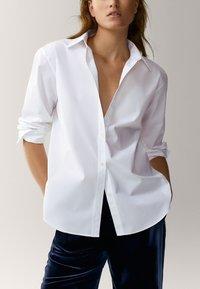 Massimo Dutti - Overhemdblouse - white - 4