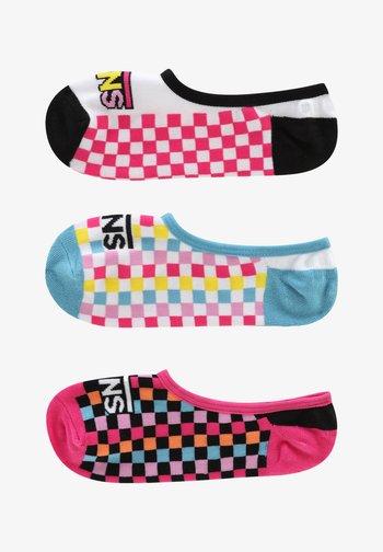 WM ZOO CHECK CANOODLES (6.5-10, 3PK) - Trainer socks - multi